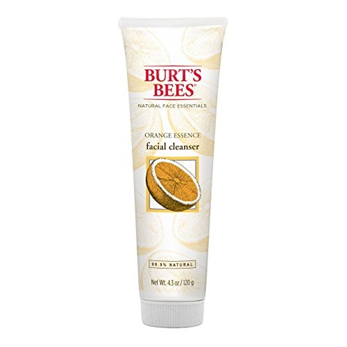 Burt's Bees Orange Essence Facial Cleanser, Sulfate-Free Face Wash, 4.3 Ounces