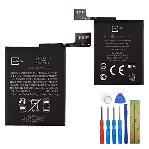 Nueva batería de repuesto A1641 A1574 compatible con Apple iPod Touch 6 6th Gen 1043 mAh 3,83 V + herramientas