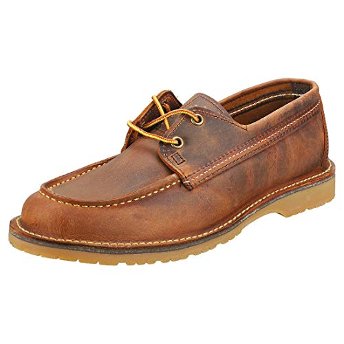 RED WING WACOUTA CAMP MOC Enkellaarzen/Low boots heren Cognac Laarzen