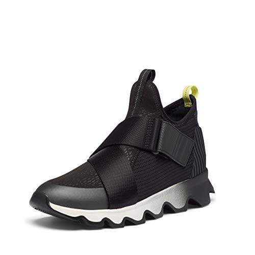 Sorel Women's Kinetic Sneaker - Casual - Nordy - Black - Size 10.5