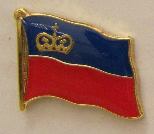 Pin Anstecker Flagge Fahne Liechtenstein Staatsflagge Flaggenpin Badge Button Flaggen Clip Anstecknadel