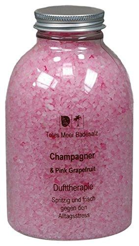 Totes Meer Natur Badesalz CHAMPAGNER & PINK 630 gr. beduftet mit hochwertigen Parfümölen