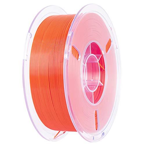 VOMI PLA+ 3D Drucker Filament 1,75mm, PLA Plus Filament Orange Filament-3D-Druck für 3D Drucker oder 3D Stift, 1KG Spule (2,2 LBS) | 1,75 +/- 0,02mm | Verwicklung frei | Vakuumverpackung
