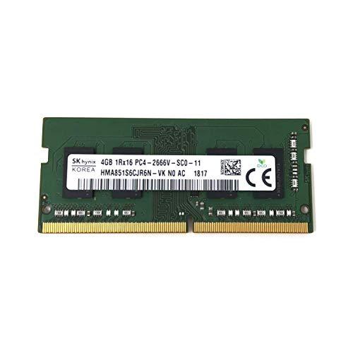 Hynix SK HMA851S6DJR6N-VK Arbeitsspeicher (4 GB DDR4, 2666 MHz, Nicht-ECC, SODIMM)