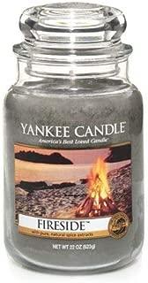 Fireside Large Jar Candle,Fresh Scent