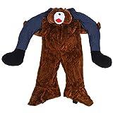 Wincal Disfraz de Oso: Disfraces de Oso Adulto de Dibujos Animados para Festivales de Halloween, Accesorios de decoración para Fiestas