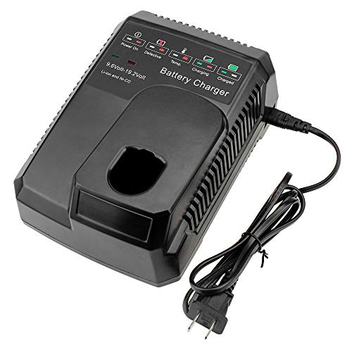 Eagglew C3 19.2V Replacement Battery Charger For Craftsman 9.6V-19.2 Volt Lithium-ion & Ni-Cad & Ni-MH Battery 140152004 130279005 315.CH2021 315.CH2020 315.PP2011 315.PP2010 1425301 1323903