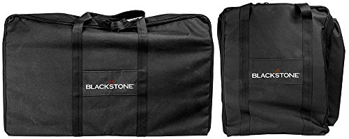 Blackstone 1730 Set-600 D Polyester-High Impact Resin- Black Signature Griddle Accessories-Tailgater Combo Carry Bag S