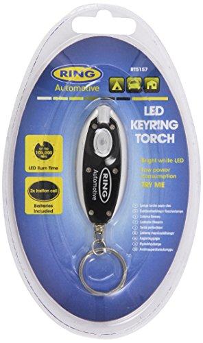 Ring Automotive Ltd Led Keyring Torch Mini Torch Super Bright Light Fast Post