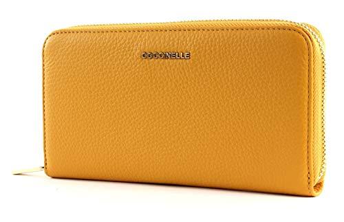 COCCINELLE Zip Around Wallet metálico Zip Around Wallet suave L Sun