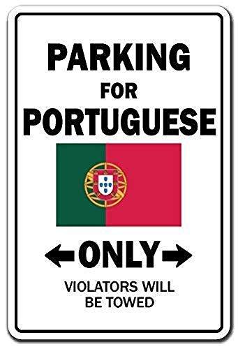 Henson Parkeren Portugees Alleen Nationale Pride Portugal Vlag Nostalgische Kunst Mooie Traditionele Tin Teken Metaal Geschilderd Moderne Muur Decoratie Art Poster Game Kamer Huis Regels Straat Teken