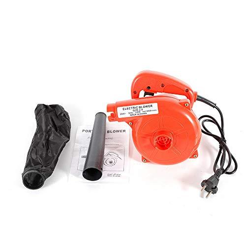 DiLiBee Polvo Soplador de Aire Coche eléctrico Polvo de jardín Aspiradora de computadora Soplador eléctrico Soplador de vacío (700W)