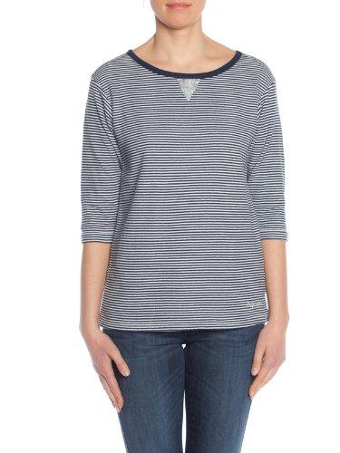 Napapijri Boisseron Sweatshirts Und Fleecejacken Damen Marine/Weiss - XS - Sweatshirts Sweater