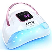 ABOX Star2 72W Nail Dryer for Gel Nail Polish, Fast Curing with 36 LED Beads