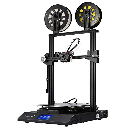 Creality CR-X Pro 3D Printer with Dual Extruder BL Touch Meanwell Power Supply Silent Mother Board and 2kg PLA Filaments 300x300x400MM