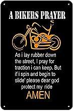 Biker Fun Sign-retirement on Two Wheels-Alu Metal Sign Printed Gift