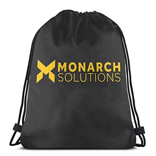 AOOEDM Quantum Break - Monarch Solutions Sport Sackpack Kordelzug Rucksack Gym Bag Sack