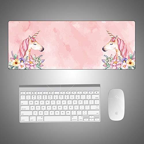 CHLOEG™ Mouse Mat Pink fresh cartoon animal horse...