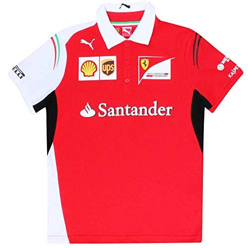 Scuderia - Polo oficial F1 para niños (100% algodón)
