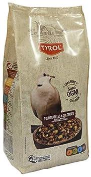 Tyrol 1880 Menu Complet pour Tourterelles/Colombes/Repas Premium Contient Vitamines/Minéraux Essentiels