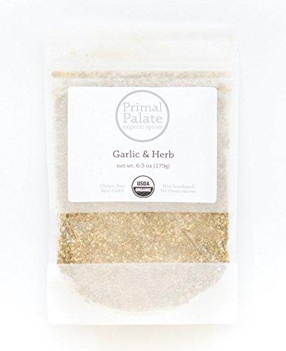 Primal Palate Organic Spices, Garlic & Herb Seasoning, Certified...