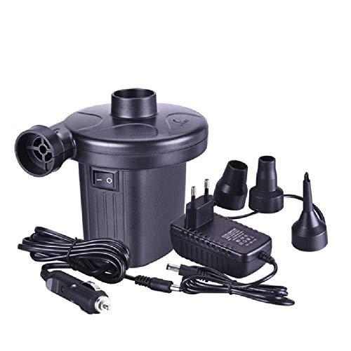 ZXW Elektrische Luftpumpe, Luftpumpe Für Familienautos, Luftbett, Planschbecken Und Spielzeug Europäische Standardauto-Doppelzweckpumpe