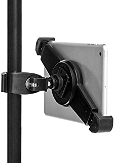 """GRIFITI Nootle Universal Tablet Mount and Quick Release Clamp Adjustable for all 7"""" to 11"""" Tablets with or without cases 1/4-20 Connector for Displays, Photos, Movies, Videos."""