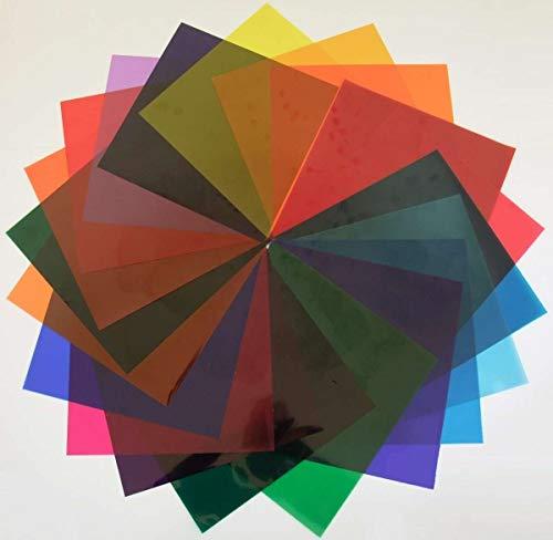 Farbfilter Musterheft für Par 64er