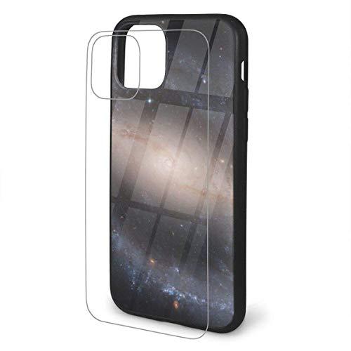DAWN & ROSE espiral Galaxy iPhone 11 TPU vidrio teléfono caso serie a prueba de golpes y arañazos caso cubierta para iPhone 11 Pro Max