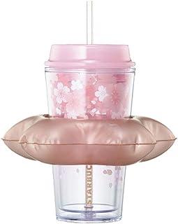 海外 Starbucks19 Cherry blossom floating coldcup 473ml スターバック さくらコールドカップ スタバコールドカップ 韓国スタバ さくら2019 さくらタンブラー [海外直送品]