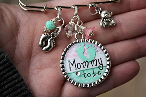 Personalized Mommy to be pin or choice of title Grandma Mom Aunt Nana Noni Gigi Baby shower kilt Pin It
