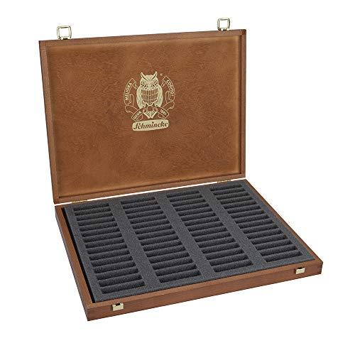 Schmincke Caja de madera vacía en color pastel, capacidad para 60 pasteles, 1 cada uno (77960097)