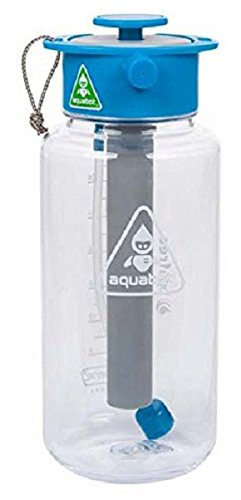 LUNATEC(ルナテック) アウトドア 水分補給 冷却 クリーニング アクアボット 1000ml クリアー LTA1053000