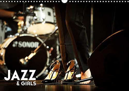 Jazz & Girls (Calendrier mural 2022 DIN A3 horizontal): le jazz conjugué au féminin (Calendrier mensuel, 14 Pages )