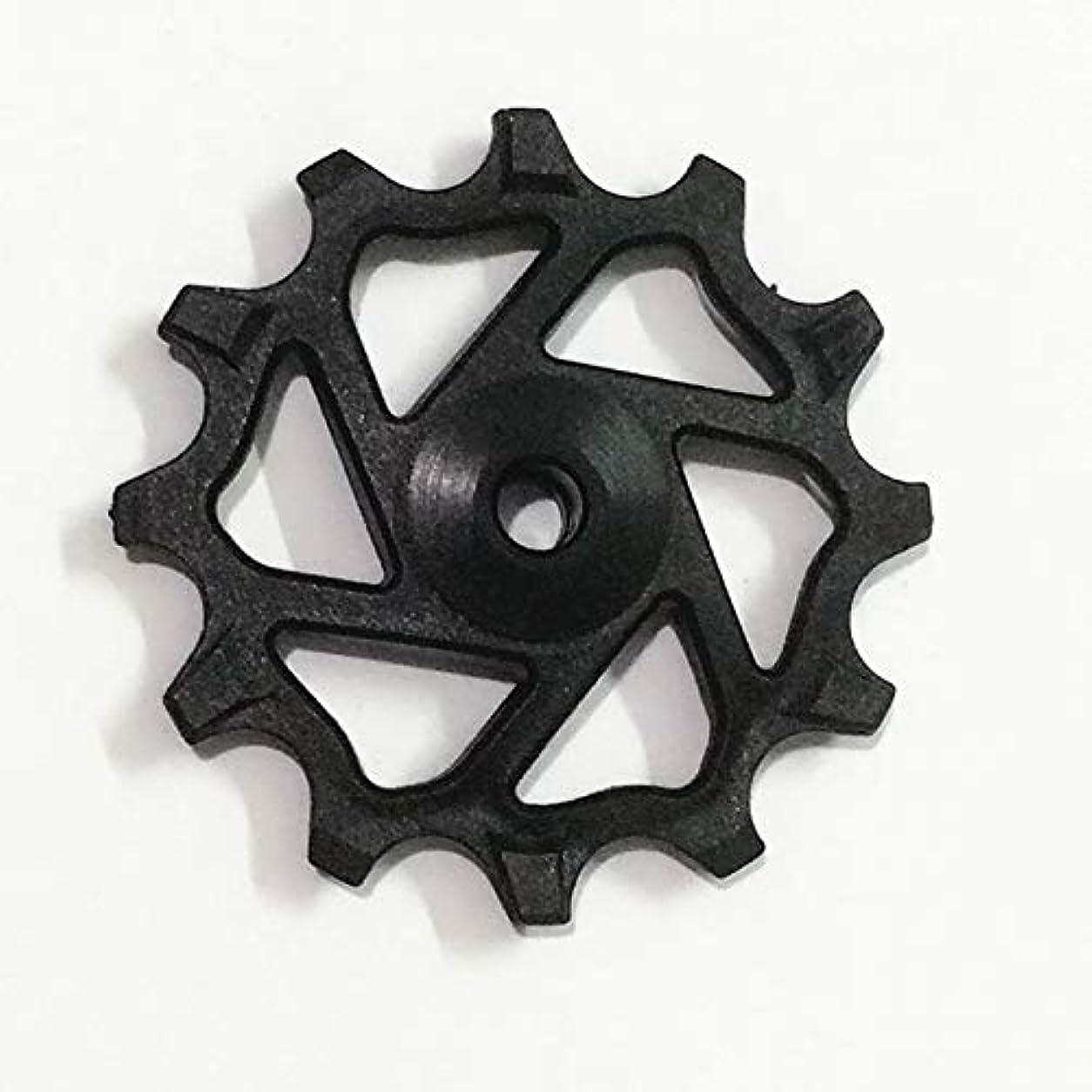 感じる不安定防衛Propenary - 自転車レジン12T狭い広い静かなリアディレイラージョッキーホイールロードマウンテンバイクガイドローラーアイドラープーリー自転車パーツ