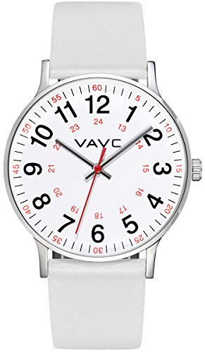Best Waterproof Watches for Nurses - VAVC Nurse Watch for Medical Students