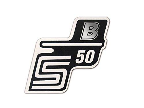 Schriftzug (Folie) S50 B silber