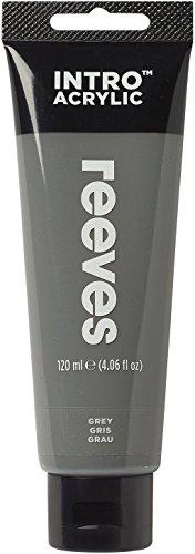 Reeves - Pintura acrílica Reeves Intro - 120 ml, Gris