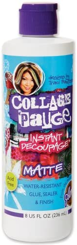 Aleene s Duncan 8 Ounce Medium Collage Pauge Instant Decoupage Matte product image
