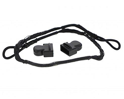 ETU24® Sehne Ersatzsehne 80 lbs 150 lbs 175 lbs für Armbrust mit Endkappen Armbrustsehne Direktversand aus Deutschland (80 lbs)