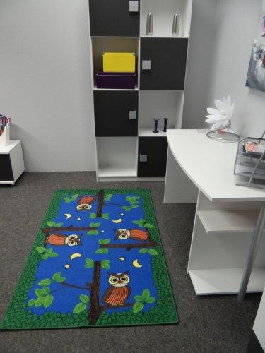 Kinderteppich Eulen bei Nacht - 3