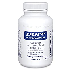 Pure Encapsulations – Buffered Ascorbic Acid is a great supplement option when doing a vitamin C flush.