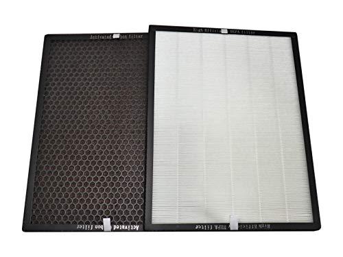 Komerci Raucher-Filtersatz für Luftreiniger Marreal AP3001 Hepa Aktivkohle