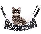 Rolybag Pet cage Hammock,pet Hammock,pet cat Hammock,Soft Plush pet Bed,Suitable for Ferret Cotton Hammock,Guinea Pig,Hamster,Gerbil, cat cage,etc (Dots-Medium)