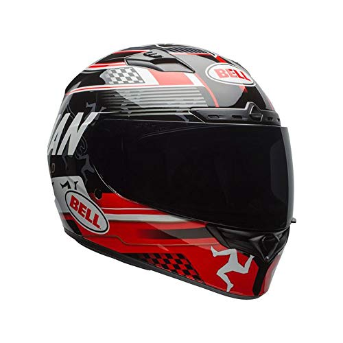 BELL casque QUALIFIER DLX ISLE OF MAN BLACK/RED S