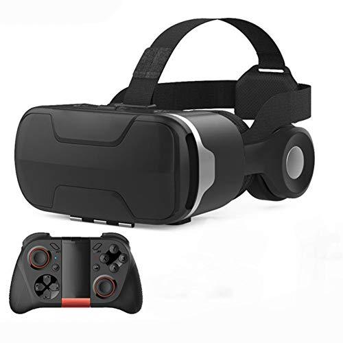 WYW 3D VR Gafas de Realidad Virtual Auricular,VR Gafas de Gafas,para Iphone6/Samsunggalaxy/iOS Android Smartphone,Adecuado para Pantalla de TeléFono Inteligente de 4.7-6.0 Pulgadas