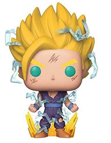 agzhu Pop Dragon Ball Z Super Saiyan Son Gohan 10Cm Figura de Vinilo Modelo Juguetes Regalo para Chico