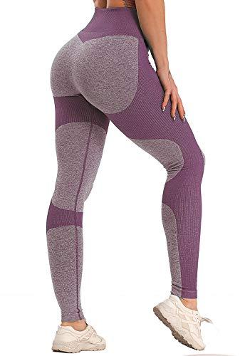 FITTOO Legging de Sport Femme Pantalon Yoga Collant Fitness Taille Haute Amincissant...