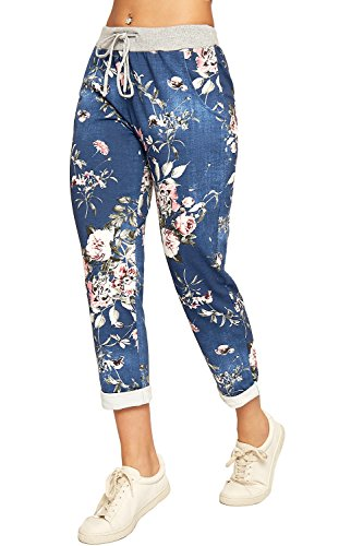 WearAll Women's Floral Print Dra...
