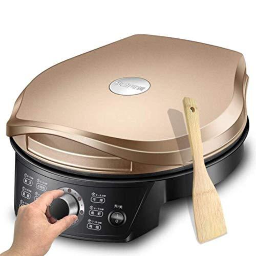 Cuisson électrique multifonctionnel de cuisson double face thermique domestique machine machine machine de cuisine machine de cuisine machine de poêle antiadhésive fabrication de pizza four cuisine 15